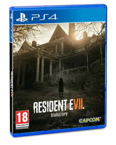 resident evil 7 biohazard ps4  - disco fisico playstation 4