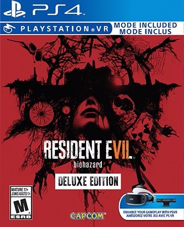 resident evil 7 biohazard vii deluxe edition juego ps4 stock