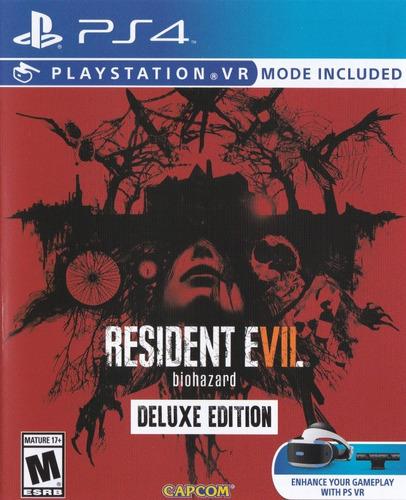 resident evil 7 deluxe + fifa 18 juegos ps4 secundario 2018!