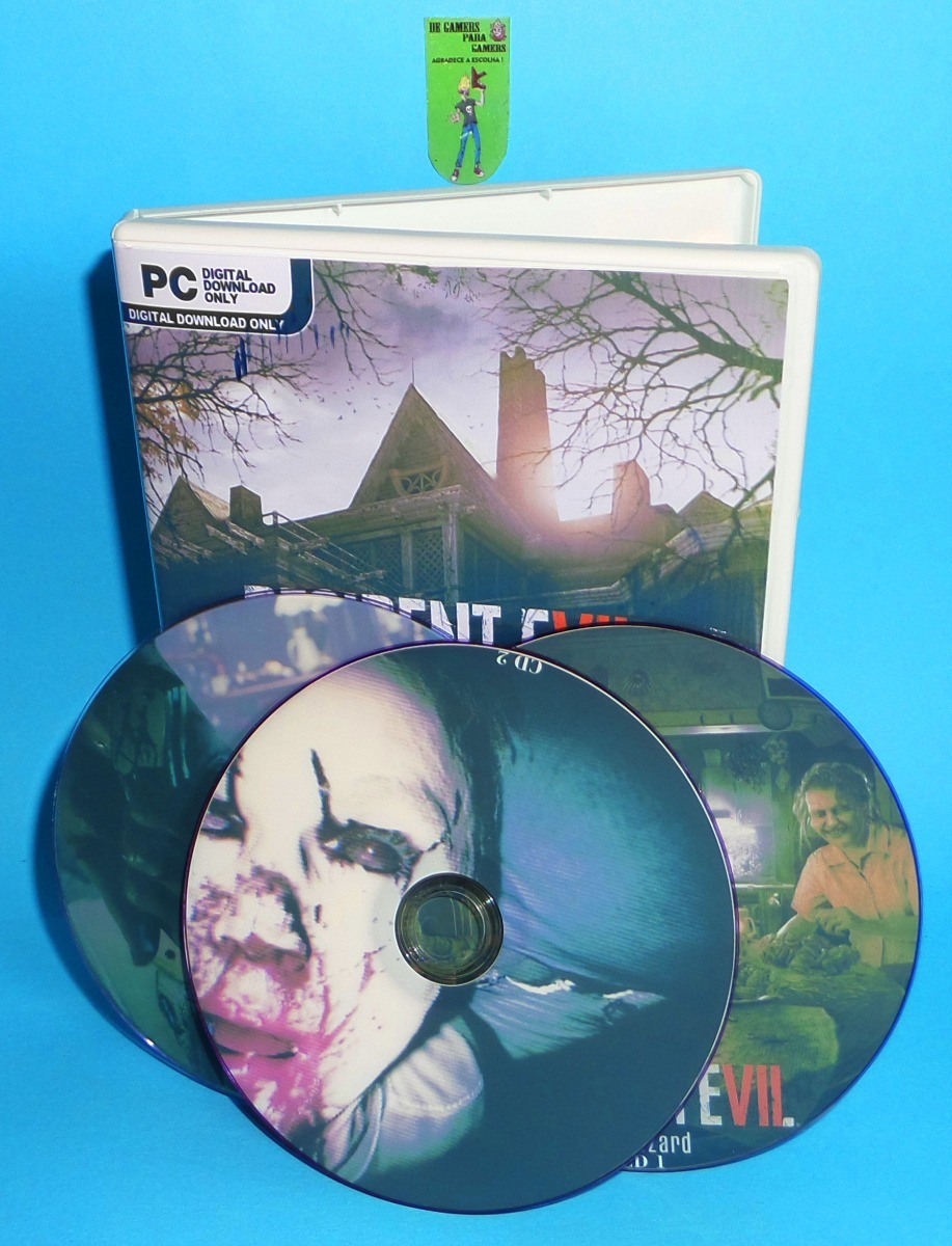 Resident Evil 7 Gold Edition - Pc Dvd - Frete 8 Reais