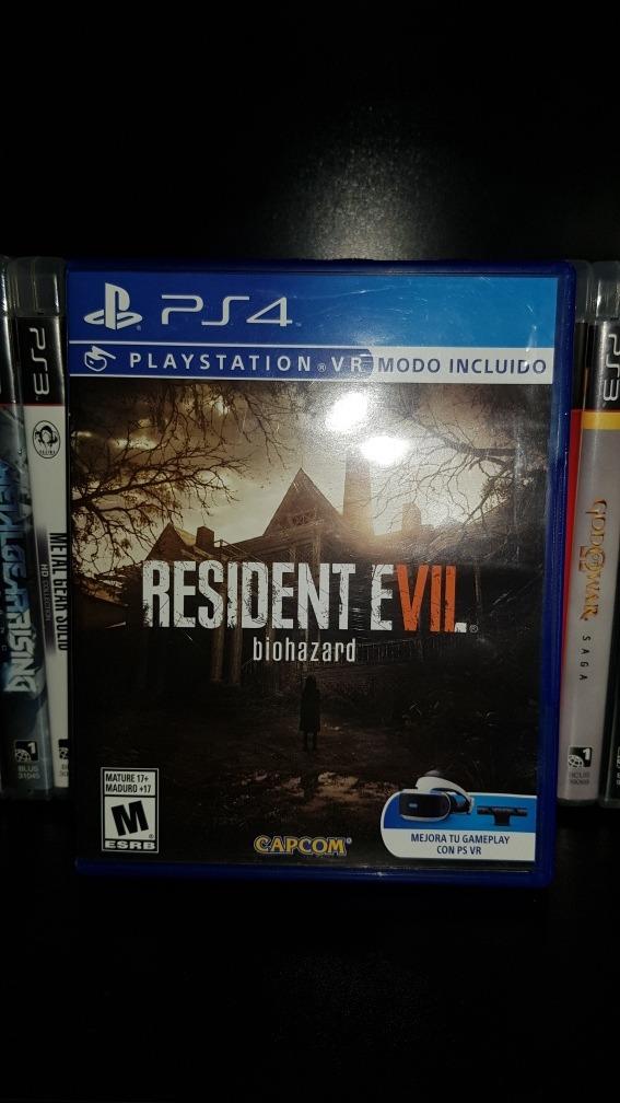 Resident Evil 7 Juegos Ps4 Espanol Vr Envio O Cambio S 129 96 En