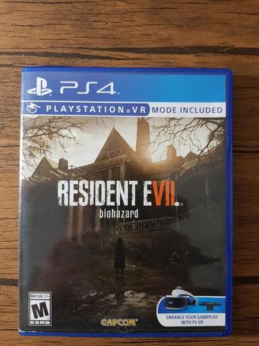 resident evil 7 playstation 4 ps4 español excelente estado !