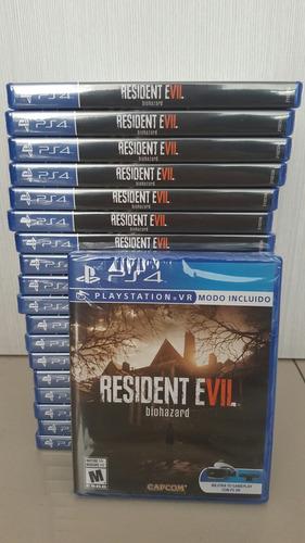 resident evil 7-ps4-nuevo-fisico-entrega inmediata
