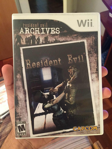 resident evil archives para wii