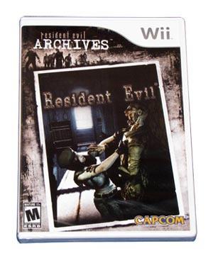 resident evil archives resident evil - wii - lacrado!