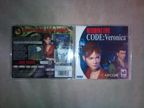 resident evil code veronica - dream cast