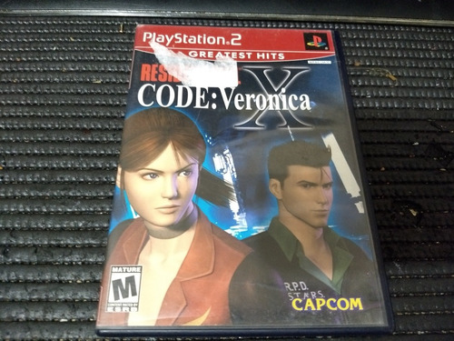 resident evil code veronica ps2 juego