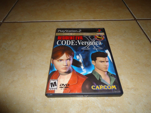 resident evil code veronica x playstation 2 ps2 +++