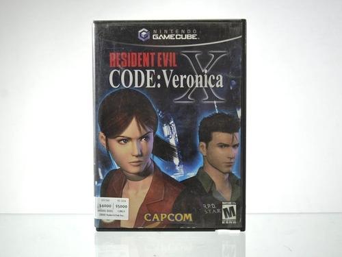 resident evil code veronica x usado ngc gamecube vdgmrs