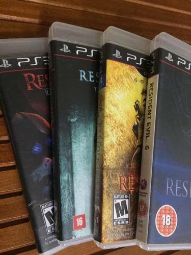 resident evil - coleção ps3 - frete grátis