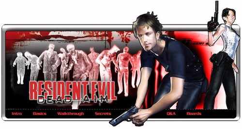 resident evil dead aim patch play2 game