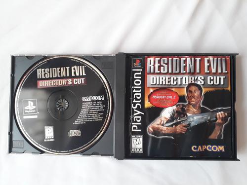 resident evil director's cut original ps1 ps2 ps3 ps4