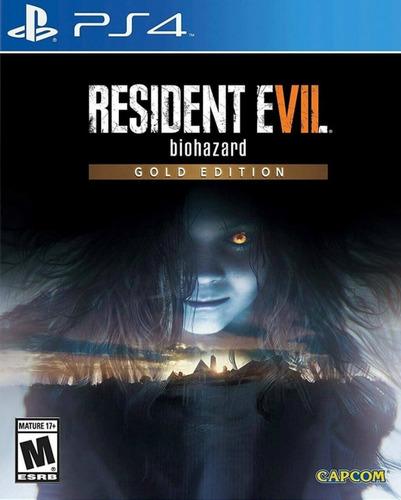 resident evil gold edition 7 ps4 fisico sellado envio gratis