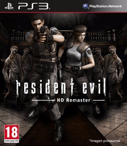 resident evil hd remaster juego ps3 playstation 3