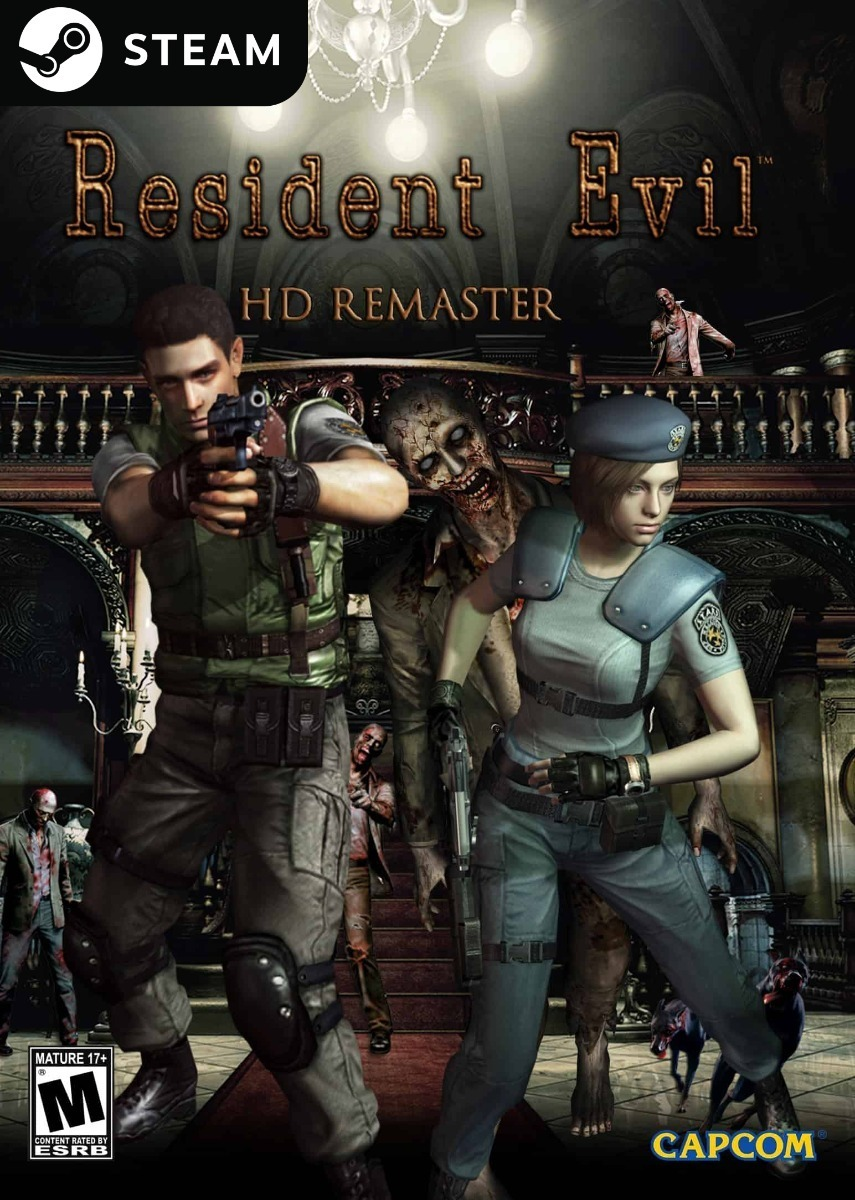 Resident Evil Hd Remaster - Key Original Steam - R$ 39,99 em ...