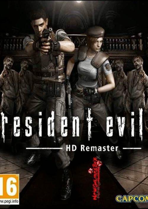 Resident Evil Hd Remaster ( Mídia Física ) Pc - Dvd