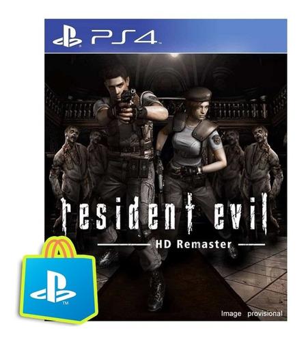 resident evil hd remaster ps4 - entrega rapida garantia 100%