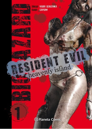 resident evil: heavenly island n¿ 01/05(libro seinen (c¿mic