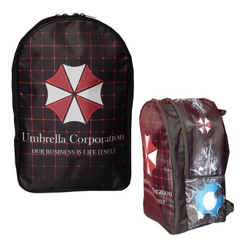 resident evil mochila backpak umbrella corporation