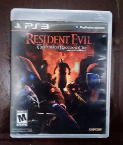 resident evil operation raccon city play station 3 ps3