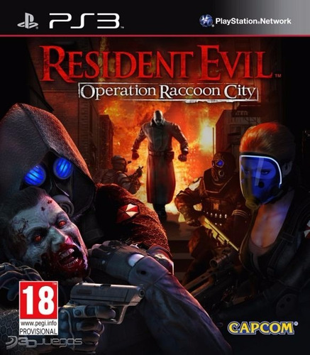 resident evil: operation raccoon city para ps3