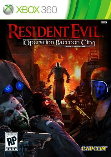 resident evil : operation raccoon city - xbox 360 - lacrado
