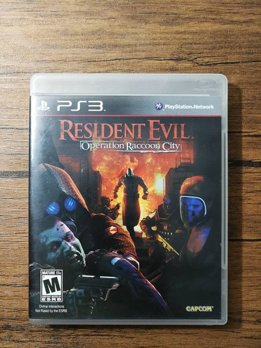 resident evil operation racoon city playstation 3 ps3 !!