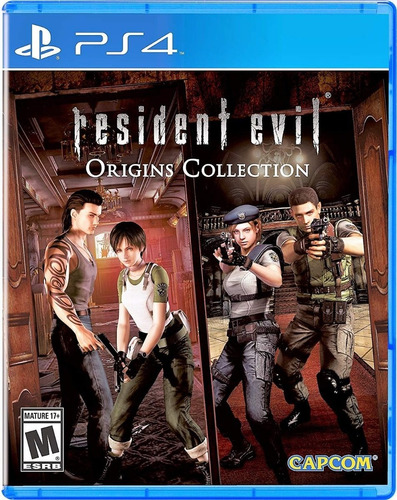 resident evil origins collection ps4 juego fisico prophone
