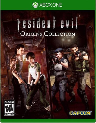 resident evil origins xbox one juego nuevo fisico