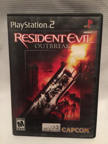 resident evil outbrake playstation 2