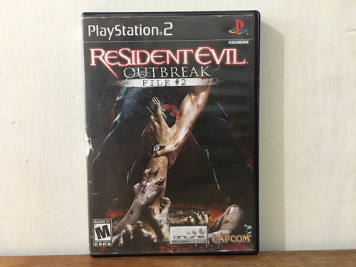 resident evil outbreak file 2 para playstation 2 / ps2