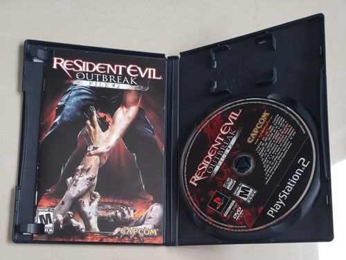 resident evil outbreak file # 2 para ps2 playstation 2