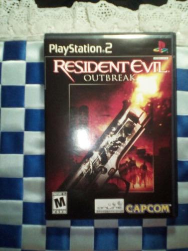 resident evil outbreak linea negra ps2