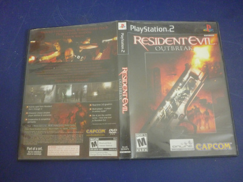 resident evil outbreak para play station 2
