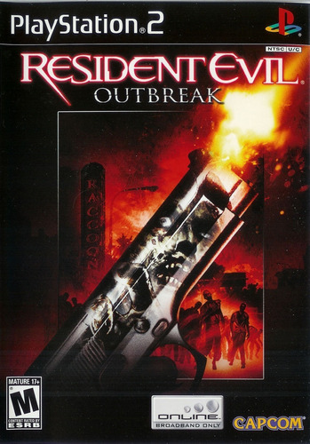 resident evil outbreak ps2 nuevo