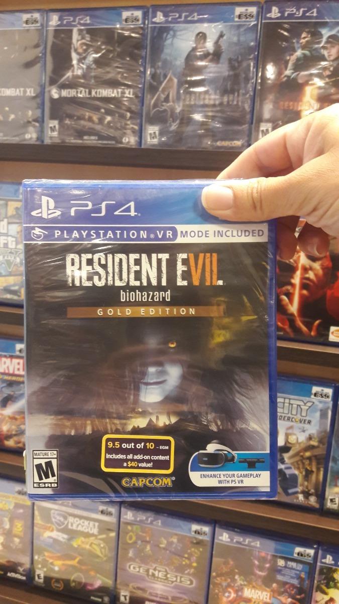 Resident Evil 7 Biohazard Gold Edition Ps4 Juego Sellado