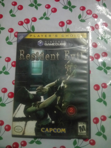 resident evil remake para gamecube