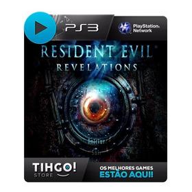 Resident Evil Revelations - Ps3 Cod Psn - Leg. Português