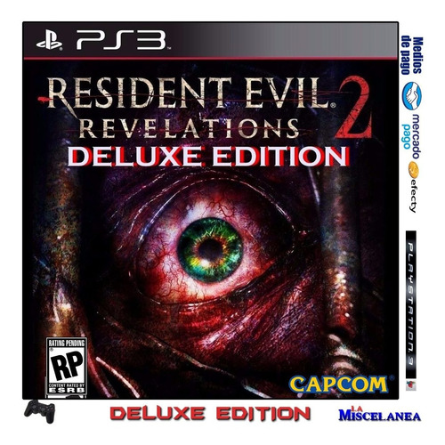 resident evil revelations 2 deluxe edition ps3 digital