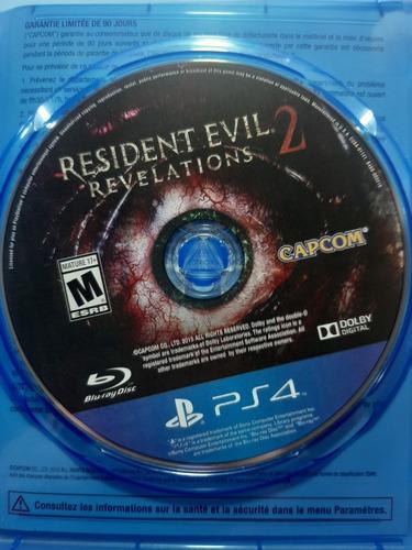 resident evil revelations 2 físico ps4 envio con normalidad
