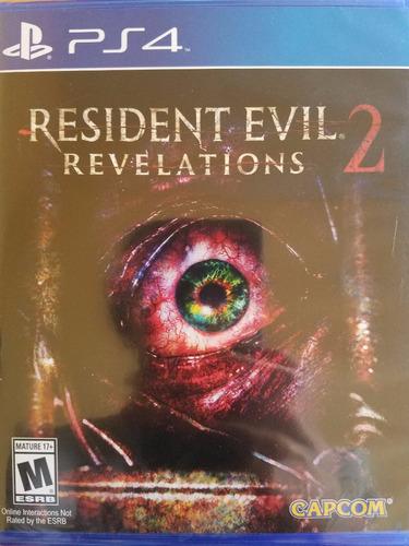 resident evil revelations 2 ps4 español delivery stock ya