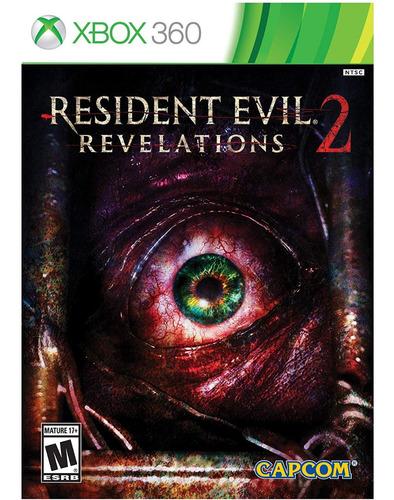 resident evil revelations 2 - xbox 360 (físico) id