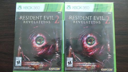 resident evil revelations 2 xbox 360 nuevo sellado