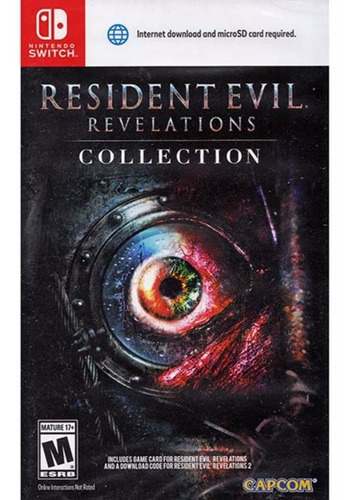 resident evil revelations collection fisico nintendo switch