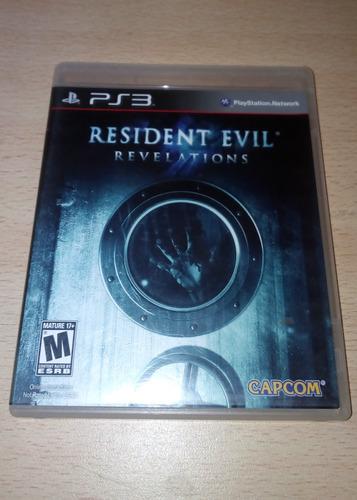 resident evil revelations - físico - ps3 - envío gratis