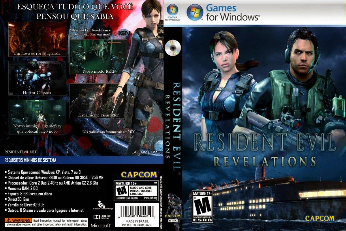 Resident Evil Revelations Pc - Steam Key - Entrega Inmediata