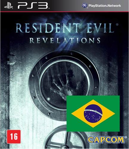 resident evil revelations portugues ps3 psn midia digital