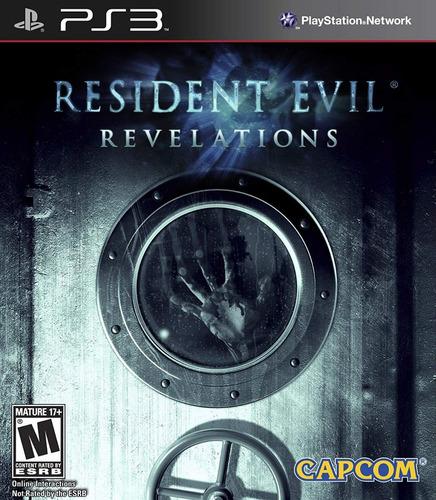 resident evil revelations ps 3 fisico nuevo