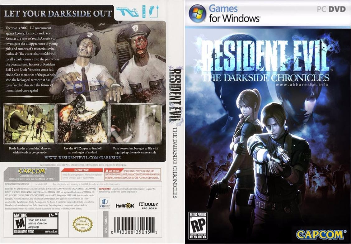 resident evil the darkside chronicles pc completo