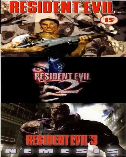 resident evil trilogy (1gb) - no codigo